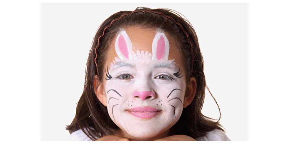 نقاشی صورت کودک دخترانه