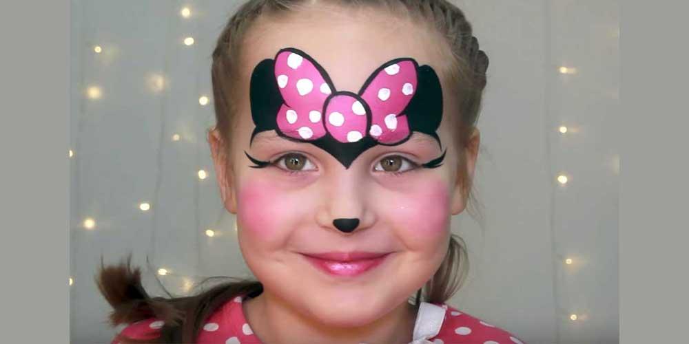 نقاشی صورت دخترانه