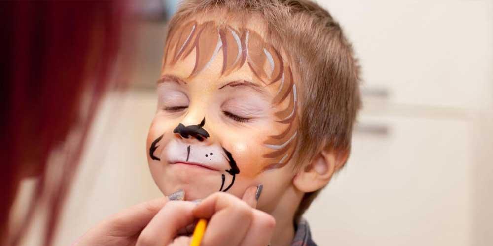 نقاشی صورت پسرانه