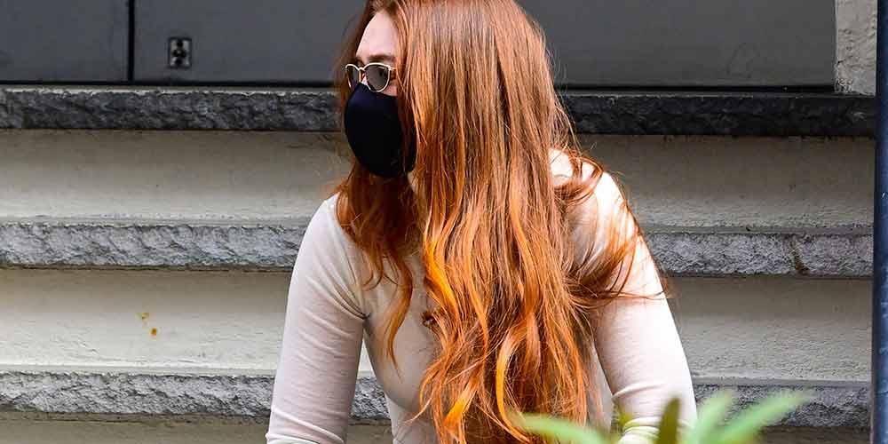 ترکیب رنگ مو مسی متوسط
