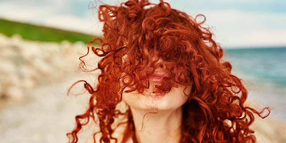 مدل رنگ مو با حنا معمولی