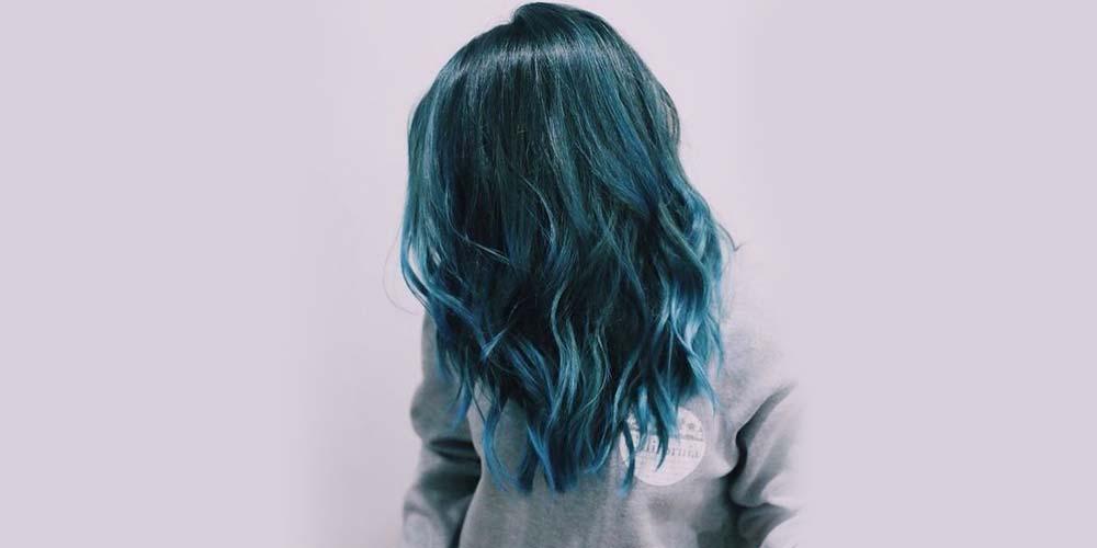 رنگ موهای اقیانوسی