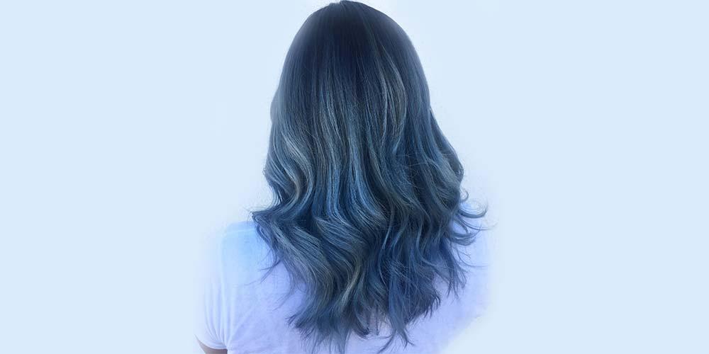 موهای آبی فیلی