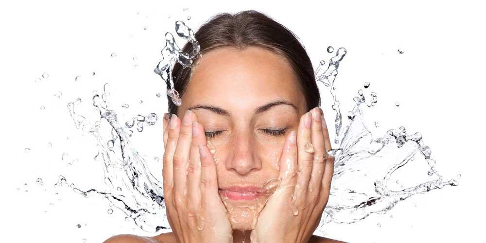 آبکشی پوست سالم
