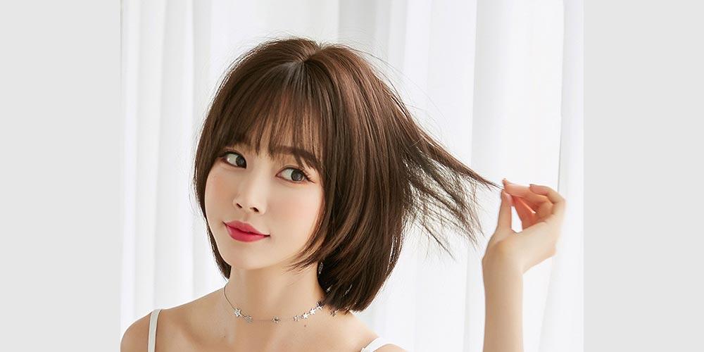 مدل مو کوتاه مجلسی برای صورت گرد