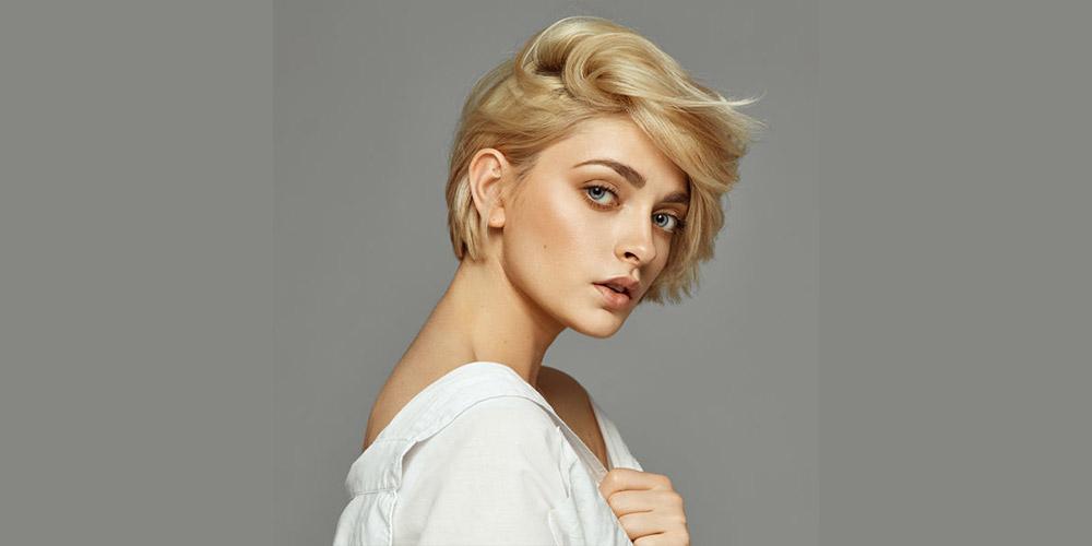 مدل موی کوتاه شلخته