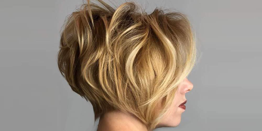 موی خرد کوتاه برای موهای پرپشت