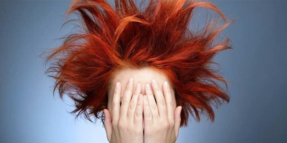 مو با تناژ قرمز