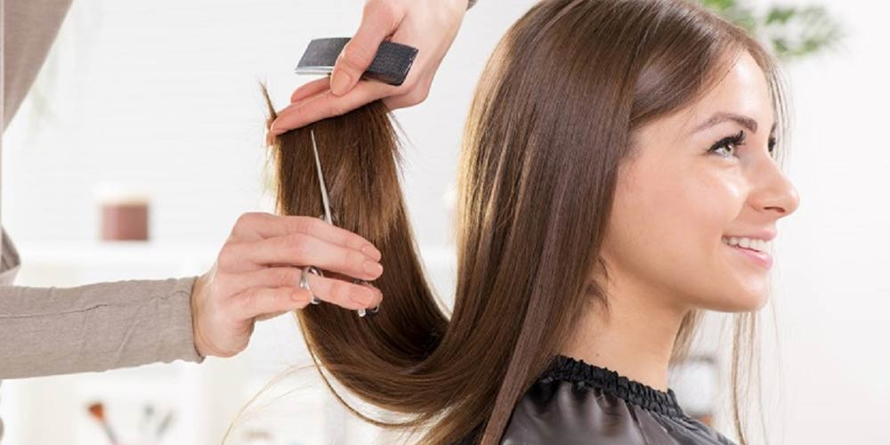 کوتاه کردن نوک مو با تکنیک پیتاژ