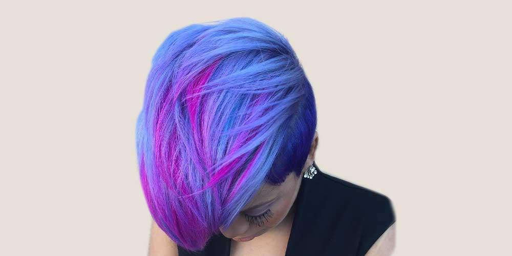 آبی کهکشانی با موی کوتاه