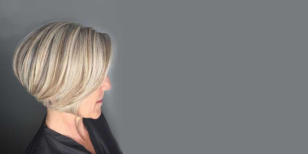 هایلایت موی کوتاه و زنانه
