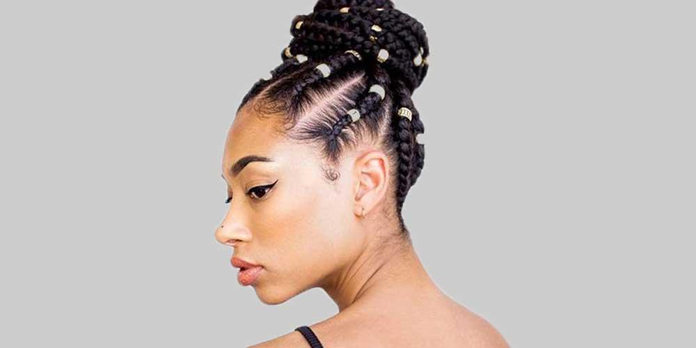 بافت مو آفریقایی قدیسه