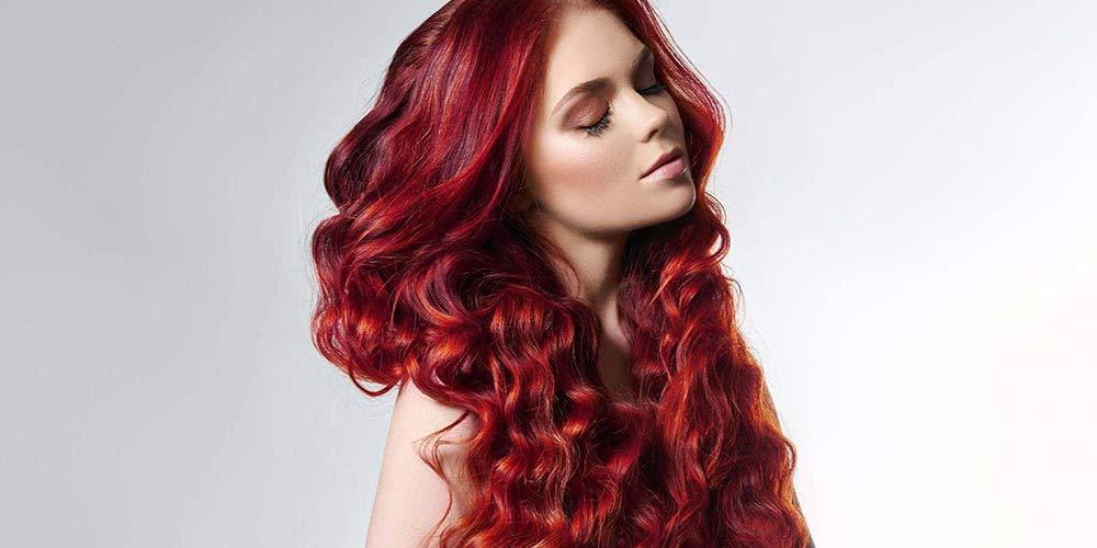 ترکیب رنگ مو فانتزی تیره
