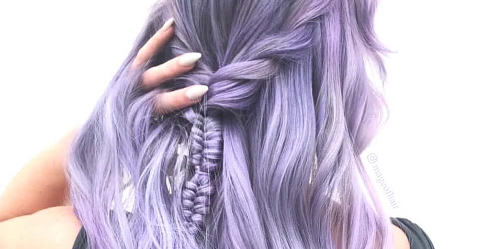 فرمول ترکیب رنگ مو یاسی