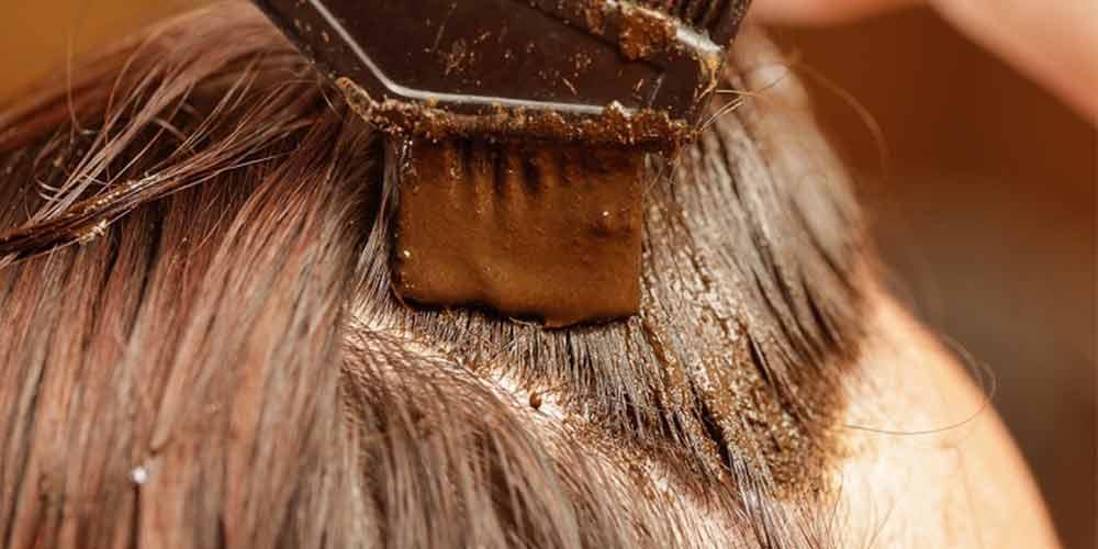 حنا برای درمان ریزش مو بعد از کرونا