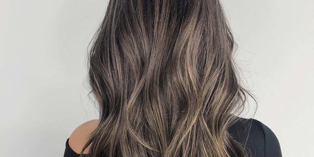 ترکیب رنگ مو فانتزی بدون دکلره