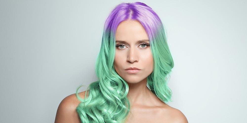 رنگ مو فانتزی جدید ۲۰۲۱