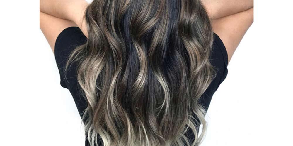 رنگ مو فانتزی دودی