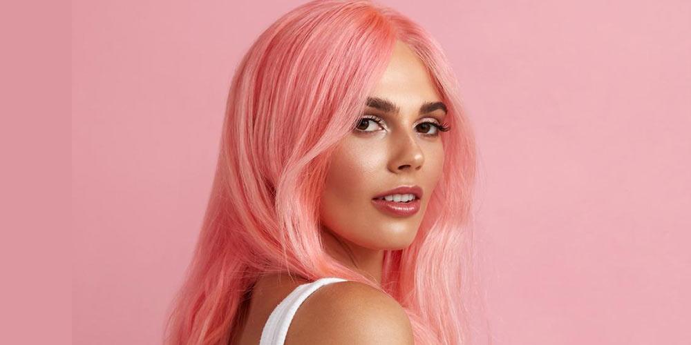 رنگ مو صورتی ۲۰۲۱