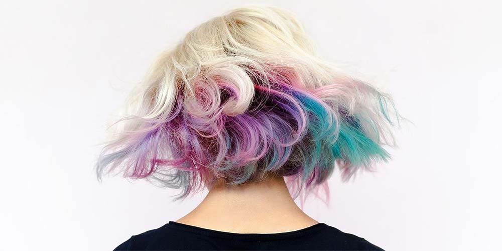 فرمول ترکیب رنگ مو های فانتزی