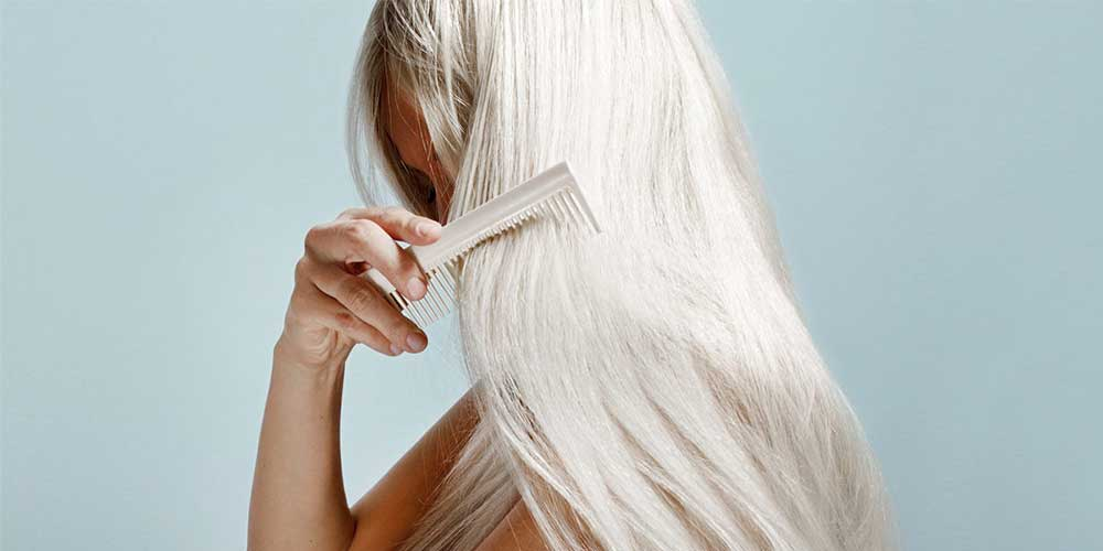 شانه زدن راحت موها بعد از دارک مو