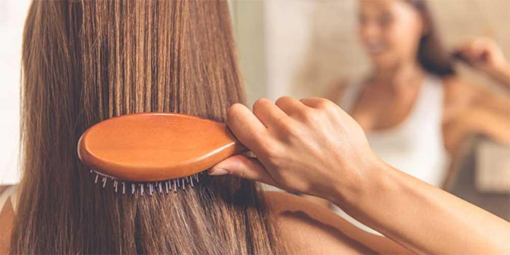 شانه زدن راحت موها