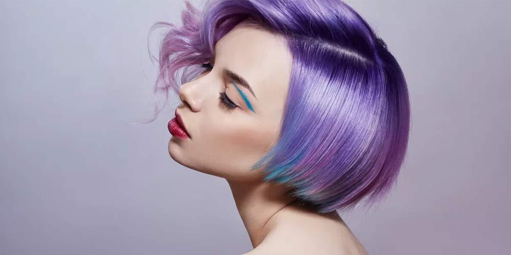 فرمول رنگ مو فانتزی بنفش