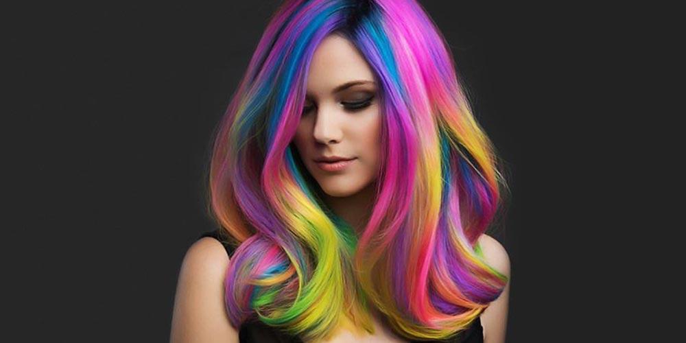 ترکیب رنگ موی فانتزی