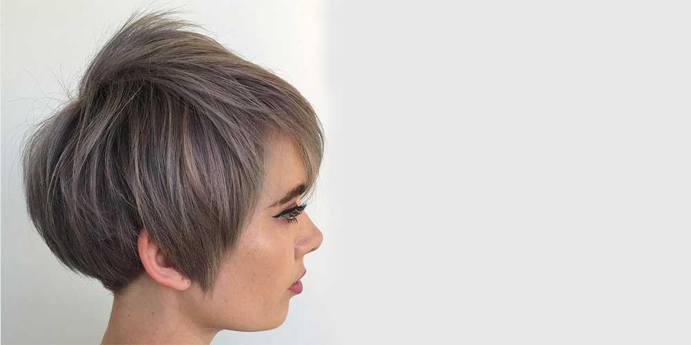 هایلایت شیک دخترانه برای موهای کوتاه
