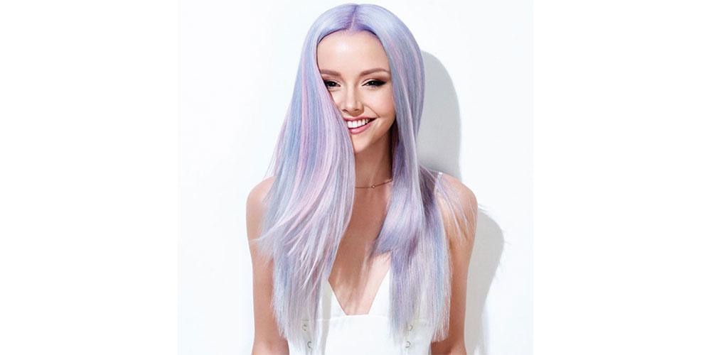 ترکیب رنگ مو فانتزی جدید