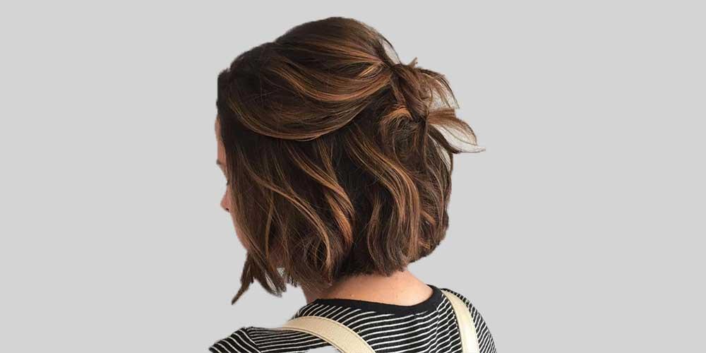 هایلایت موی کوتاه دخترانه
