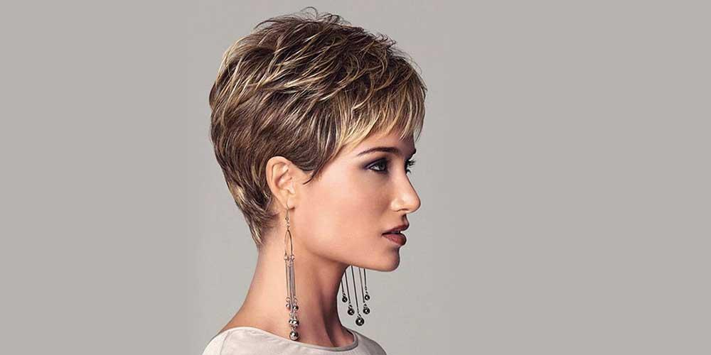هایلایت موی کوتاه زنانه