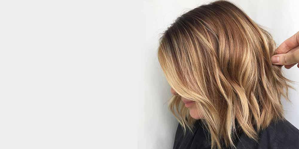 هایلایت موی کوتاه زنانه شیک