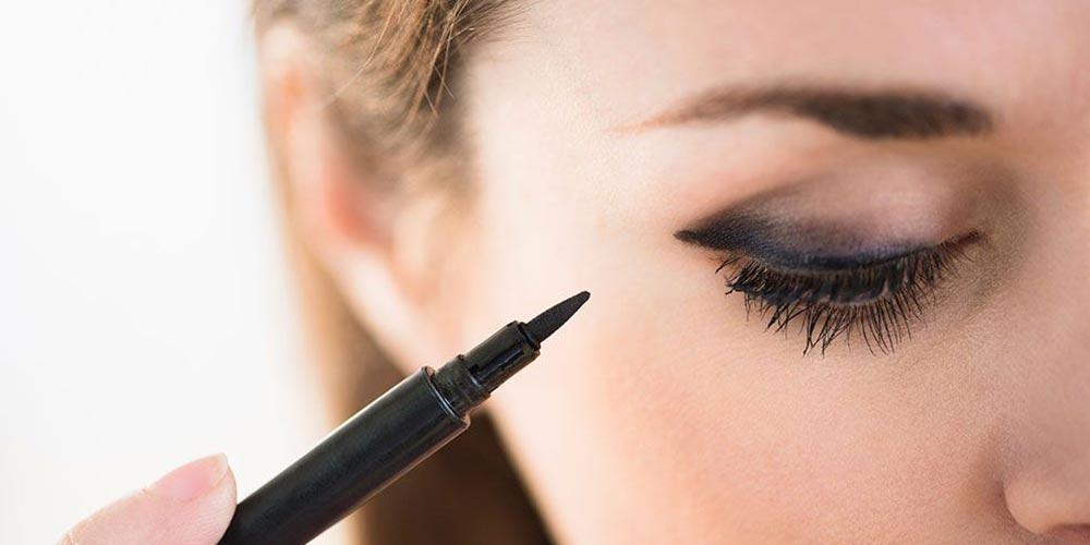آموزش آرایش اسموکی با مداد چشم