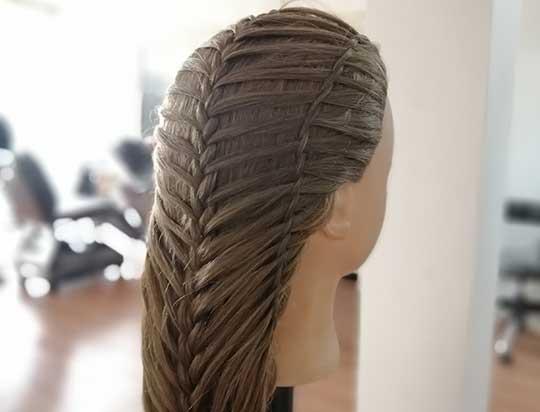 نمونه کار بافت مو حرفهای