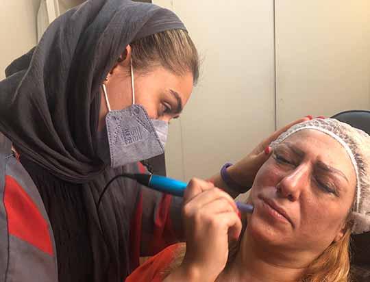 دوره آموزش پاکسازی پوست صورت