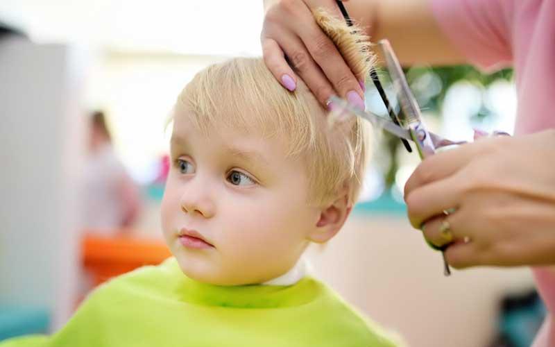 دوره آموزش کوتاهی موی کودک