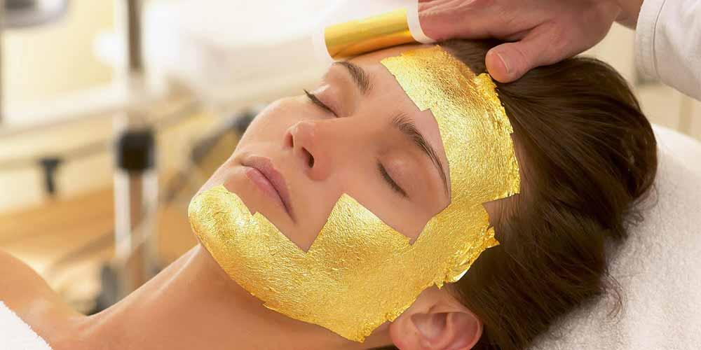 طلا درمانی پوست صورت