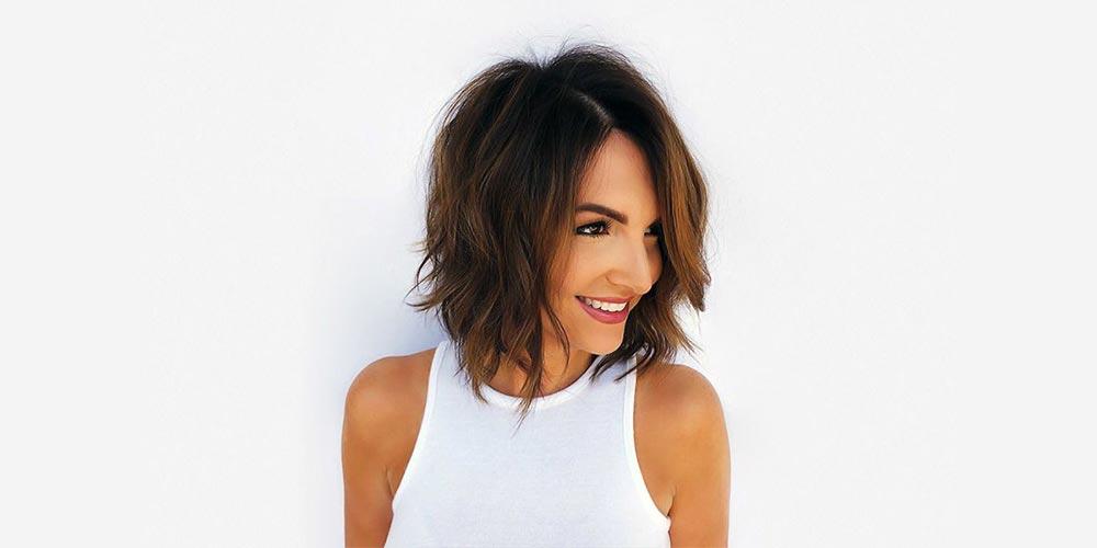 مدل مو لیر برای موهای کم پشت