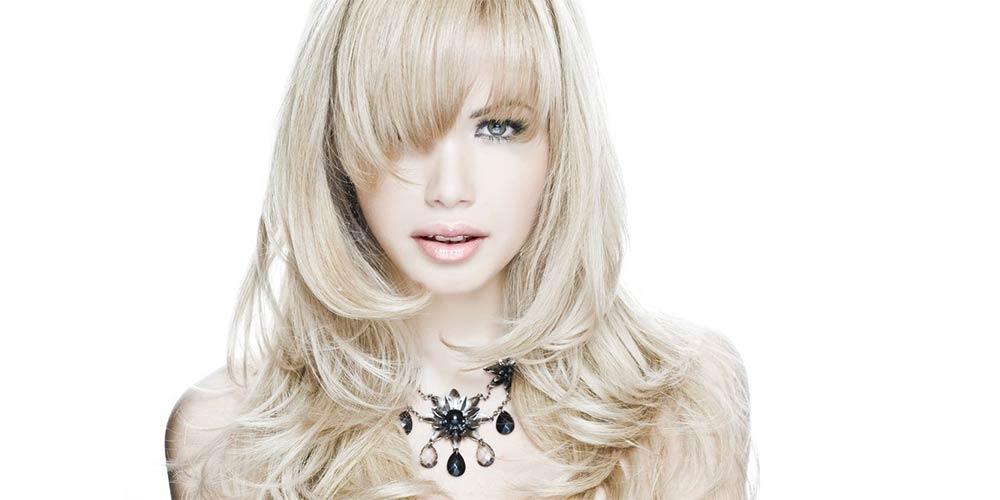 مدل مو لیر برای موهای بلوند