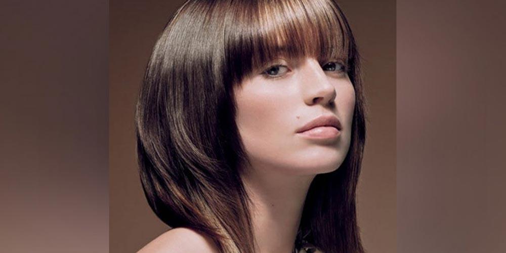 مدل مو لیر با چتری