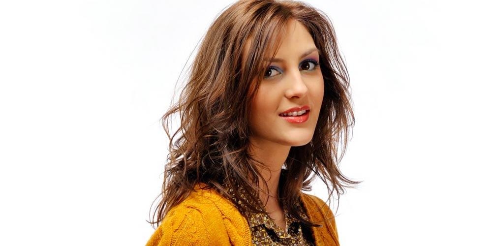 مدل موی لیر شلخته