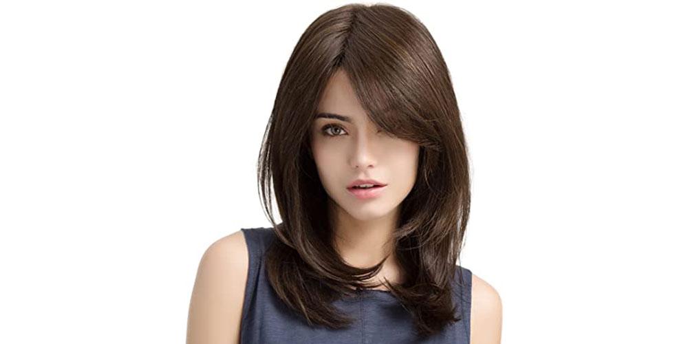 مدل موی لایه ای متوسط