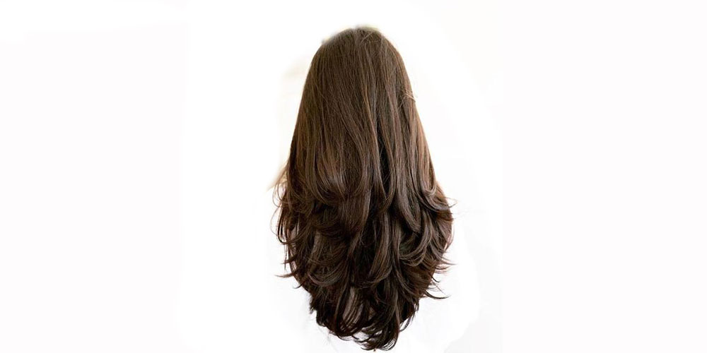 مدل موی لایه لایه بلند