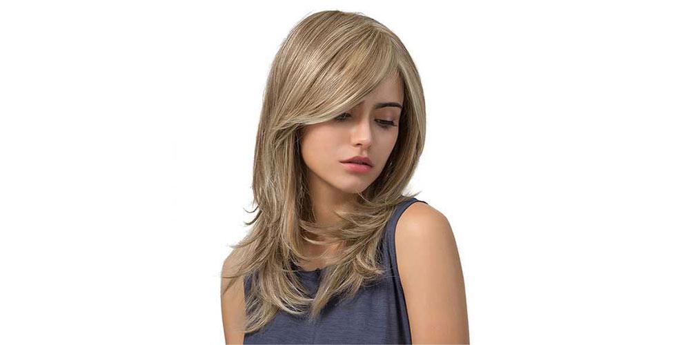 مدل موی لیر با چتری