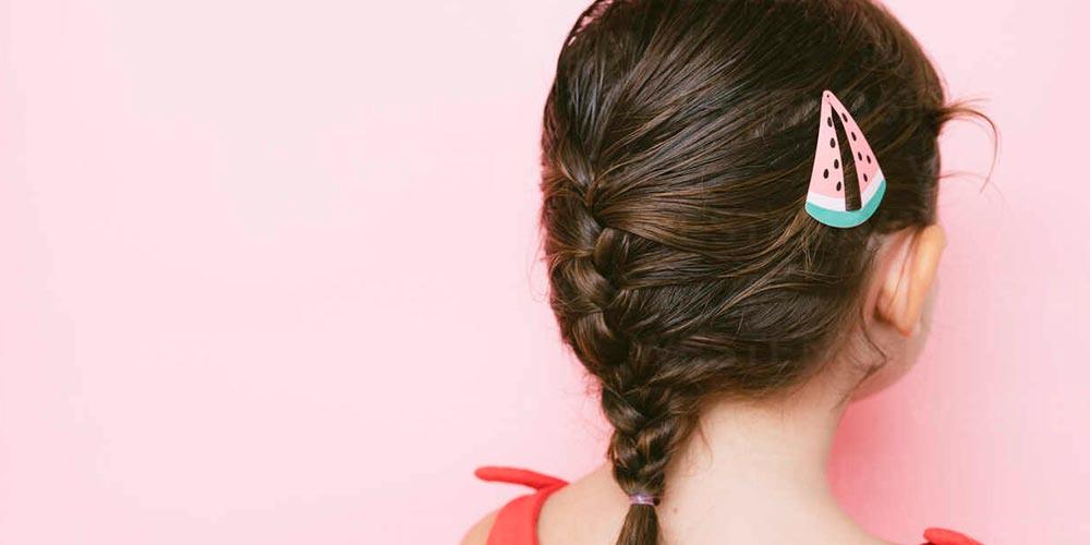 بافت موی کودکانه دختر