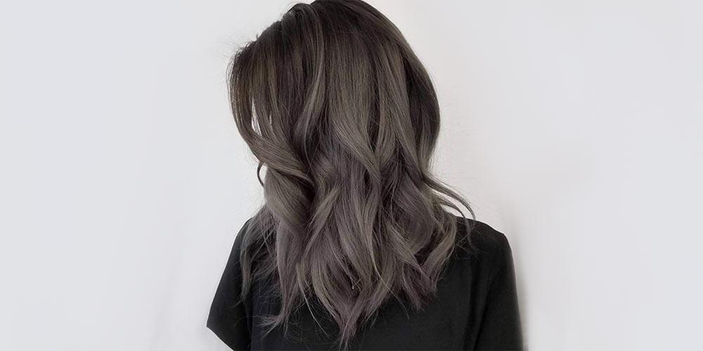 ترکیب رنگ موی دودی تیره