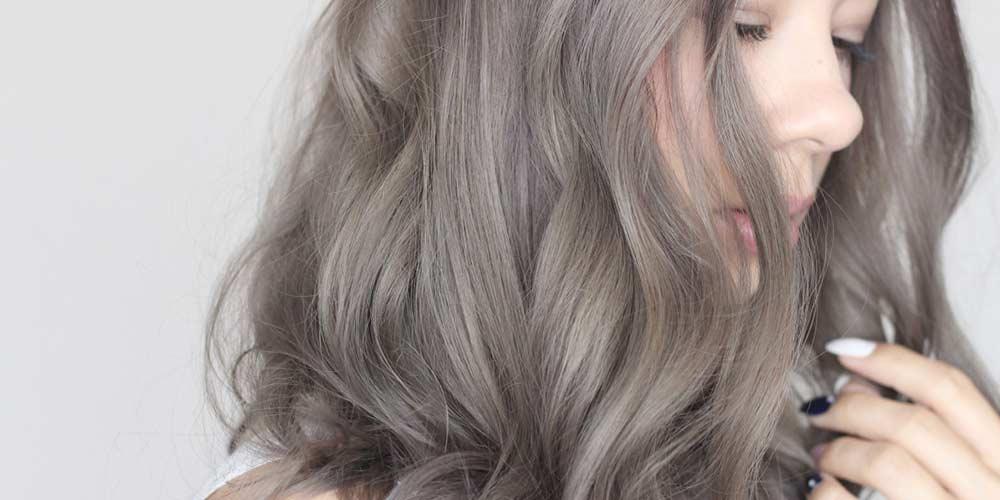 ترکیب رنگ مو دودی روشن
