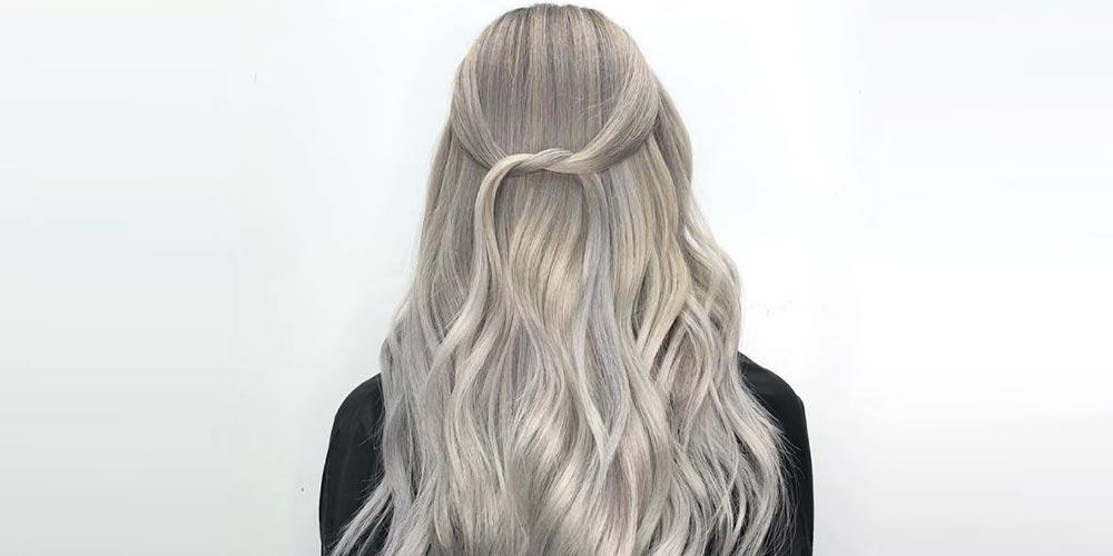 ترکیب رنگ مو دودی صدفی