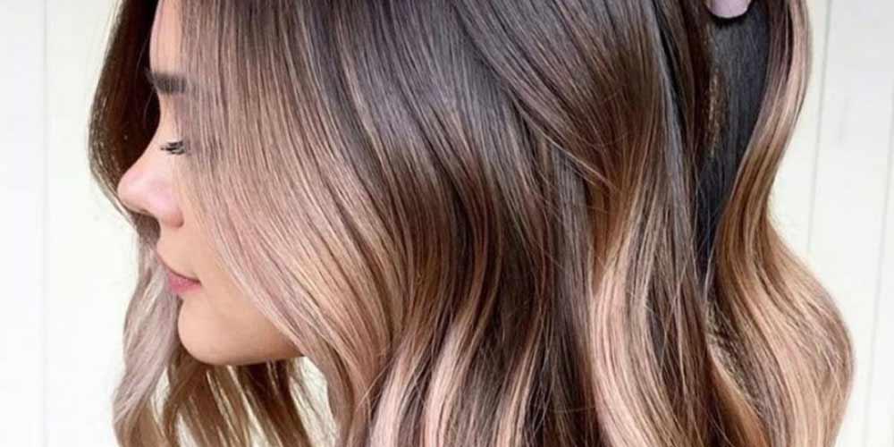 فرمول ترکیب رنگ موی دودی طلایی